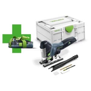 Festool Sticksåg PSC 420 Li EB-Basic-Promo 2021 med ett HighPower-batteri BP 18 Li 4,0 HPC-ASI 577026